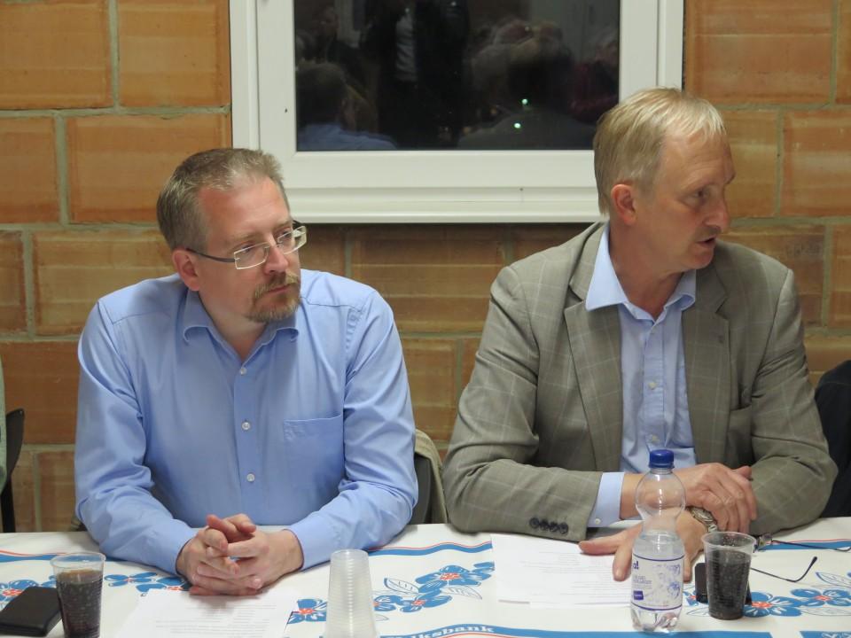 Michael Vietz MdB und Joachim Stünkel im Gespräch